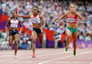 olympic sprinters