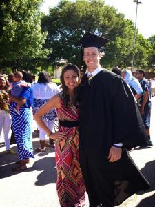 Ryan's graduation