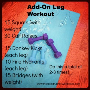 better add on leg workout