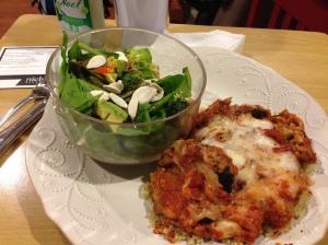 eggplant parmesan meal