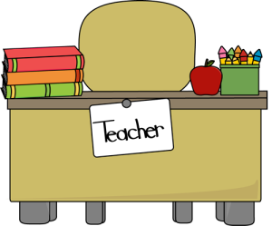 teachers-desk